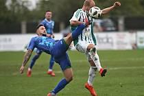 Sokol Hostouň - Vltavín Praha 0:2, FORTUNA:ČFL, 6. 10. 2019