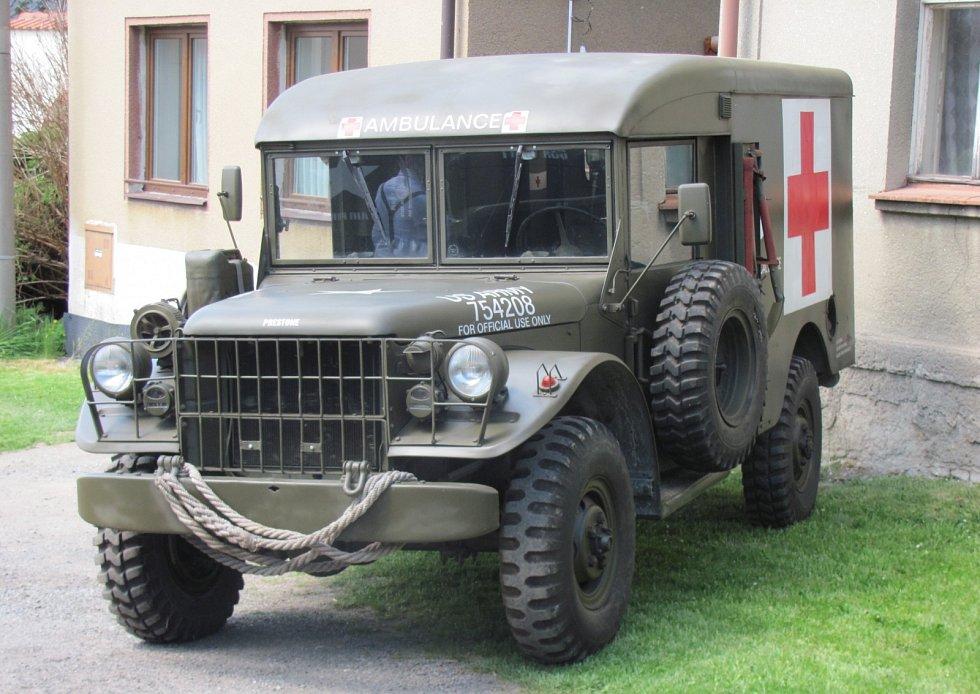 Oslavy 70. výročí konce druhé světové války ve Velké Dobré.