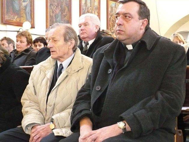 Mezi četnými hosty byl i Radoslav Brzobohatý.