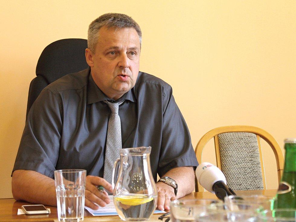 Kladenský primátor Milan Volf.