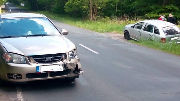 Nehoda u Dolu Libušín ve středu odpoledne