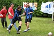 Fotbalový turnaj se v sobotu 30. května konal v kladenské Zahradě.