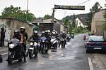 Motosraz ve Třebichovicích se konal i přes nepřízeň počasí.