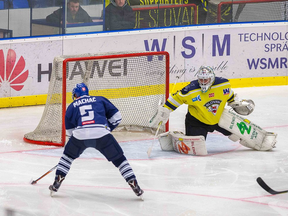 Kladno - Ústí 6:2, druhý zápas se Rytířům povedl. Tohle ale Patrik Machač nedal, věříte?