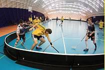 FBC Kladno - SK FCB Třinec, floorbalová 1. liga, 13.k., 12.12.2009