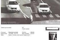 Už žádný trik s osobou blízkou. Snímky z kamer úsekového měření jsou velice kvalitní. Řidiči na nich mají fotografii téměř jako na občanském průkazu.