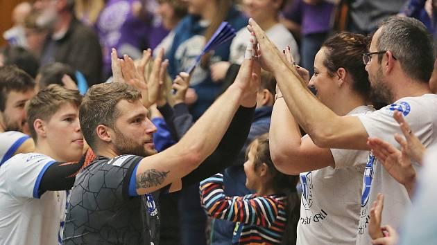Kladno volejbal cz - Montana Volley 3:0, CEV Cup Kladno, 13. 11. 2018