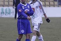 Tomáš Klinka se vrátil do kladenského dresu v utkání proti Hradci Králové.