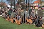 Jarní přehlídka trofejí a svod psů přilákal do Žiliny řadu myslivců i nemyslivců.