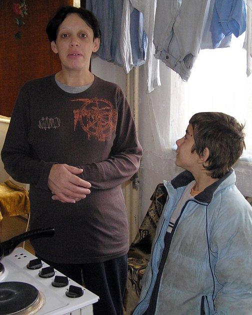 Jana Badžová z ubytovny u bývalého masokombinátu není ze stravenkového systému vůbec nadšena.