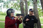 V Sítenském údolí se uskutečnil Seniorský desetiboj pořádaný Městskou policií Kladno.