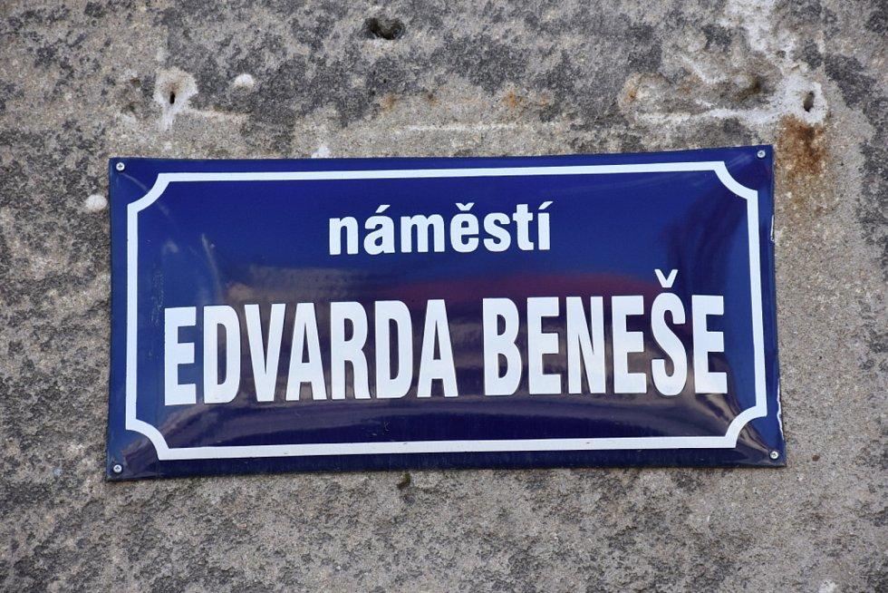 Náměstí Edvarda Beneše v Kladně.