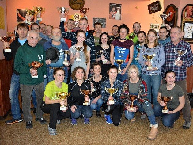 Medailisté Poháru běžců Kladenska a Rakovnicka. Foto: Ilona Podušková