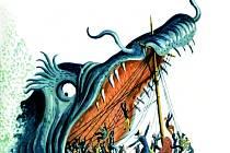 Ilustrace kladenského rodáka Cyrila Boudy.