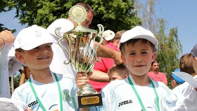 První ročník turnaje Hostouň Children Cup patřil domácímu Sokolu.