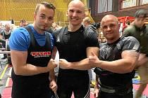 Zleva Tomáš Janda, Roman Zelenka a Aleš Mračko.