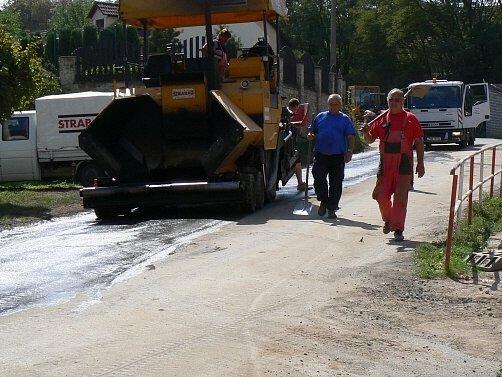Práce v ulici 5. května finišují.