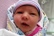 NATÁLIE BENEŠOVÁ, KRÁLŮV DVŮR. Narodila se 28. srpna 2020. Po porodu vážila 3,04 kg a měřila 47 cm. Rodiče jsou Anita a Jan Benešovi, sestra Anna.