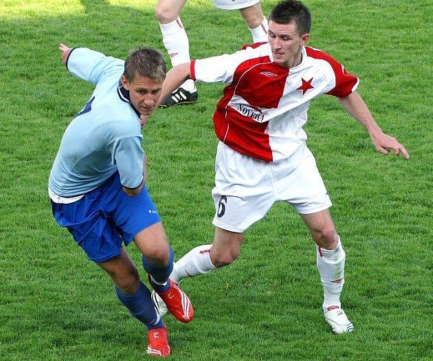 Jakub Hořejší (vlevo) dal první gól.