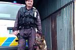 Služební pes vypátral celostátně hledaného muže.