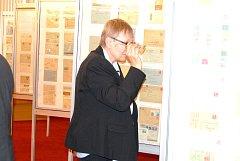 NA CELONÁRODNÍ VÝSTAVĚ mohli návštěvníci zhlédnout přes šedesát exponátů.
