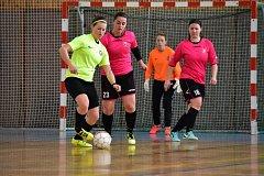 Futsalistky Čechie Slaný završily divizní sezonu domácím turnajem.