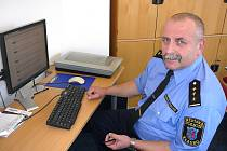Ředitel Městské policie Kladno Stanislav Procházka.