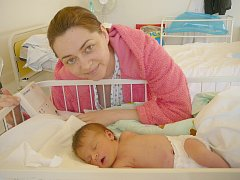 Eva Gornychar, Kladno. Narodila se 3. ledna 2014. Váha 2,95 kg, míra 50 cm. Rodiče jsou Olena Skrypka a Vasil Gornychar (porodnice Kladno).