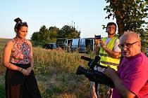 Natáčení na Kladensku, nový film studentů FAMU.