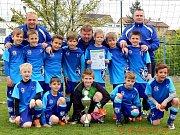 Skvělí kluci z SK Kladno, druzí na turnaji v Plzni