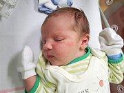TADEÁŠ KUNRT, LOUNY. Narodil se 23. ledna 2018. Po porodu vážil 4,10 kg a měřil 54 cm. Rodiče jsou Kateřina Aksamitová a Jakub Kunrt. (porodnice Slaný)