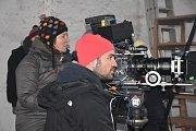 Režisér Biser A. Arichtev za kamerou
