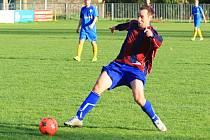 Jaroslav Korpa je roky elitním unhošťským střelcem. Dvěma góly podtrhl výhru nad tatranem Rakovník B.