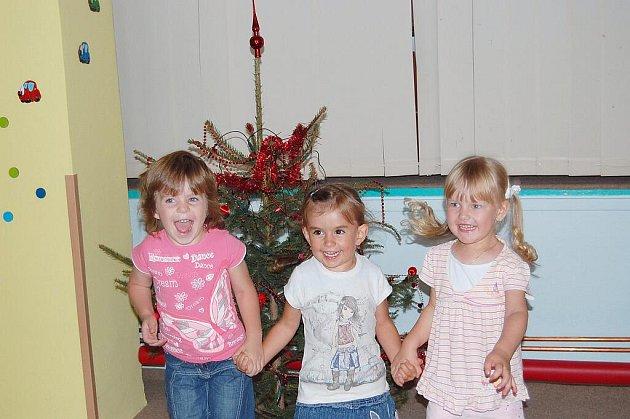 Vánoce na ruby v dětské herně Beruška