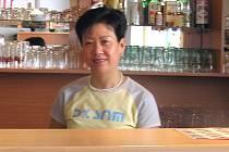 Paní Zhang  se těší na větší přísun zpráv vlasti v době olympijských her. Ona a členové její rodiny patří k necelé dvacítce Číňanů obývajících Kladno .