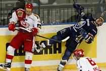 Zatím největší ránu dostal Tomáš Plekanec v duelu se Slavií.