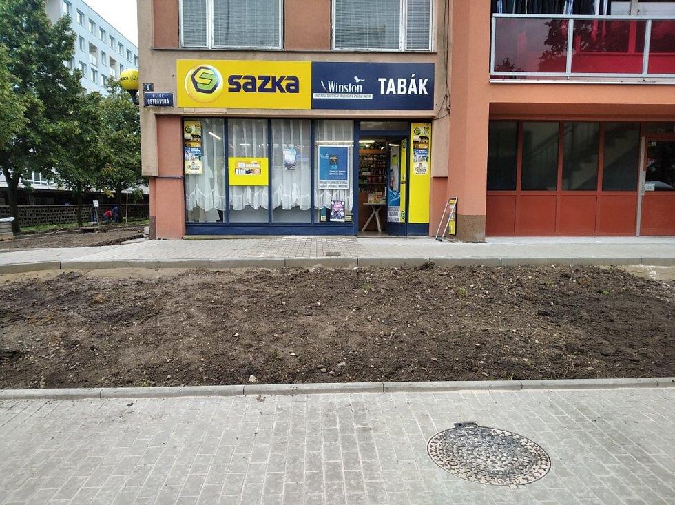 Ostravská ulice v Kladně.