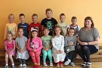 První třída pod vedením učitelky Veroniky Kořínkové.
