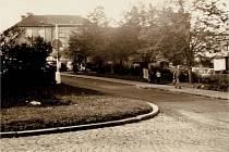 Park na náměstí Revoluce, dnešním náměstí Starosty Pavla.
