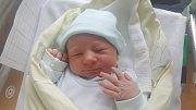 SAMUEL BURDA, KLADNO Narodil se 23. dubna 2018. Po porodu vážil 3,77 kg a měřil 50 cm. Rodiče jsou Andrea Burdová a Josef Burda.
