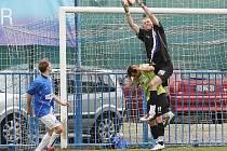 Jakubov a Danoski // SK Kladno - FK Baník Most  5:3 (2:1)  , utkání 22.k. 2. ligy 2010/11, hráno 17.4.2011