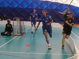 Florbalisté Kladna vyhráli ve vlastní hale alespoň jedno utkání.