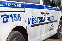 Městská policie Slaný.