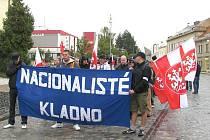Minulý rok se Svatováclavská manifestace uskutečnila v nedaleké Unhošti.