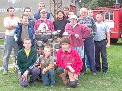 Sbor dobrovolníků z Jedomělic nejvíce trápí nezájem mladých o hasičské řemeslo