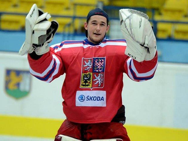 Adam Brízgala v dresu české reprezentace