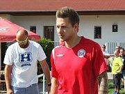 90. let fotbalu v AFK Tuchlovice. Nastupuje kanonýr Vašek Kraus