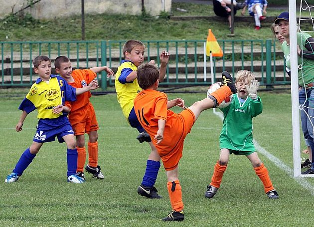 O pohár města Kladna - fotbalový turnaj mladších přípravek, hráno 27.6.2009