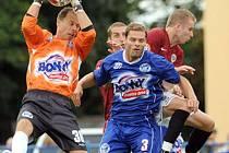 Kladenský brankář Roman Pavlík zatím třikrát kapituloval, dočká se v neděli také gólu v síti svého protějšku?
