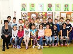 Žáci I. A z 11. ZŠ Kladno pod vedením třídní učitelky Ivety Sedláčkové.